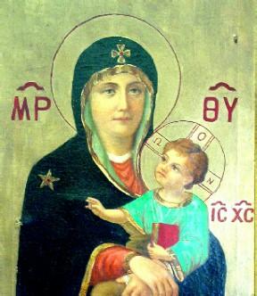 Saint Peter from St. George Melkite Church Iconostasis