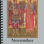 November Menaion